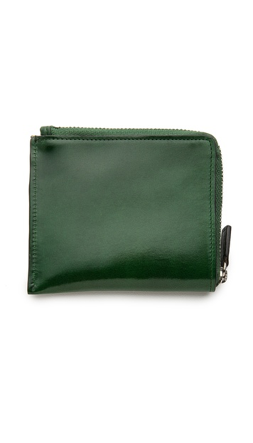 Il Bussetto Half Zip Wallet