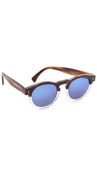 Illesteva Leonard Half/Half Sunglasses