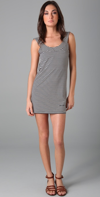Imitation Striped Tunic