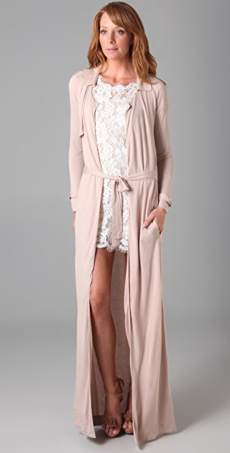 Imitation Yulia Trench Cardigan
