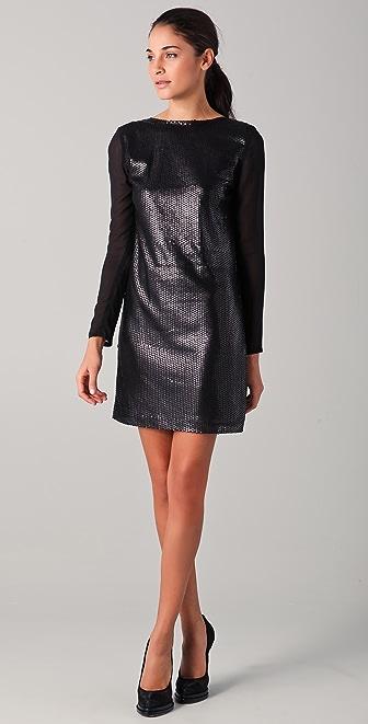 Imitation Lindy Sequined Dress