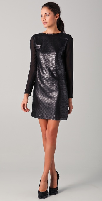 Imitation Lindy Sequined Dress