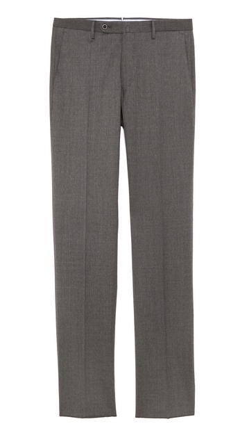 Incotex Basic Slim Fit Dress Trousers