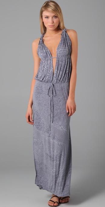 Indah Nyx Split Front Maxi Dress