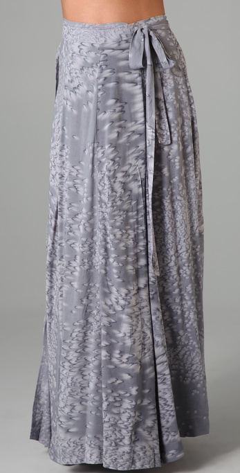 Indah Long Wrap Skirt
