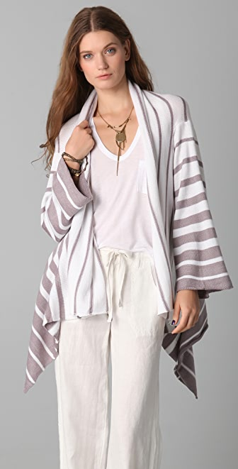 Indah Bowie Cashmere Blanket Sweater