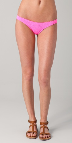 Indah Thai Ruched Bikini Bottoms