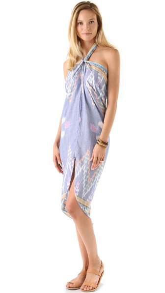 Indah Sahale Long Sarong Dress