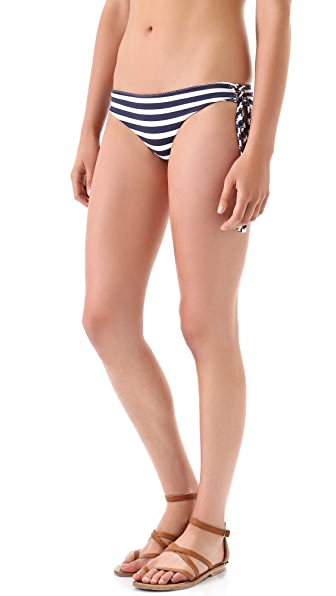 Indah Echo Bikini Bottoms with Lace Up Sides
