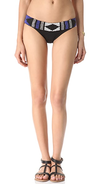 Indah Indie Beaded Bikini Bottoms
