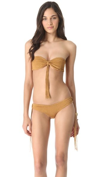 Indah Ghita Bandeau Bikini Top