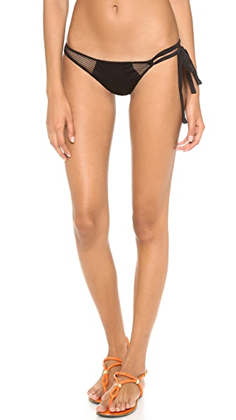 Indah Bam Bikini Bottoms with Mesh Patches