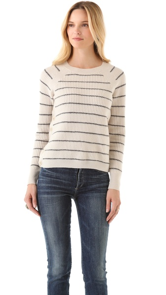 Inhabit Striped Cashmere Thermal Top