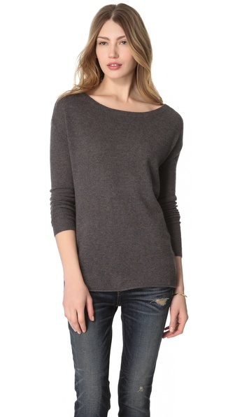 Inhabit Boat Neck Cashmere Sweater