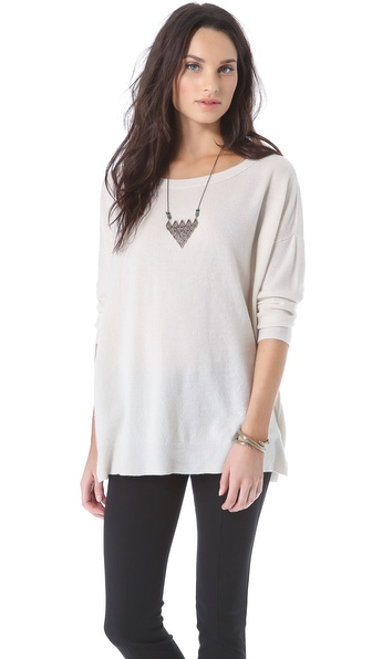 Inhabit Cashmere Weekend Crew Sweater
