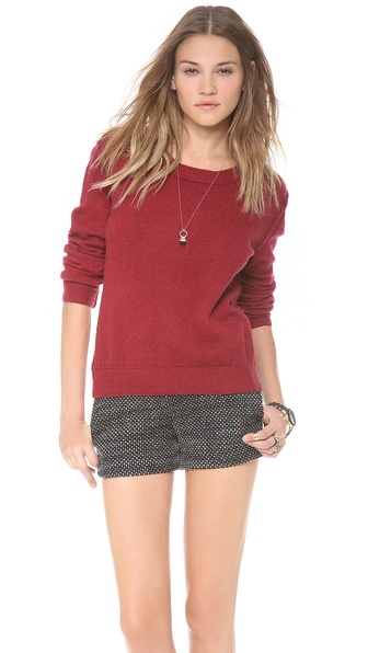 Inhabit Scoop Neck Sweater