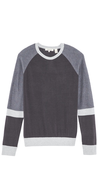 Inhabit Color Blocked Sweater