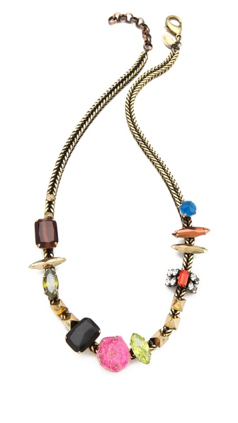 Iosselliani Multi Stone Necklace