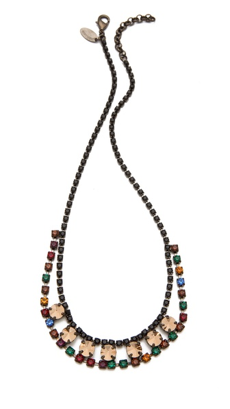 Iosselliani Bronze Stone Necklace