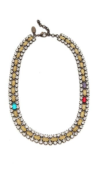 Iosselliani Bronze Stones Necklace