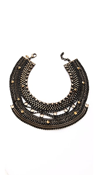 Iosselliani Studded Crystal Necklace