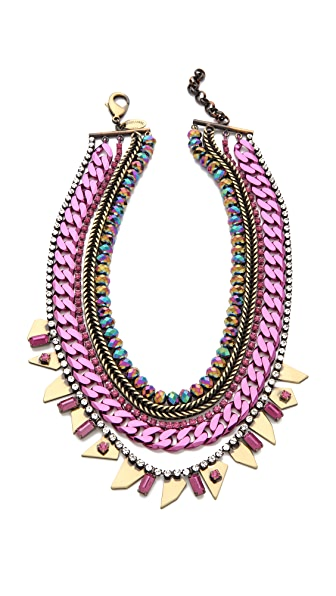 Iosselliani Multi Strand Collar Necklace