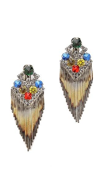 Iosselliani Fringe Earrings