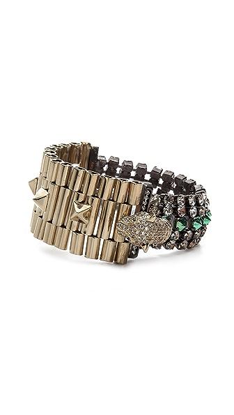 Iosselliani Cheetah Head Bracelet