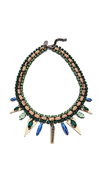 Iosselliani Graphic Elements Collar Necklace
