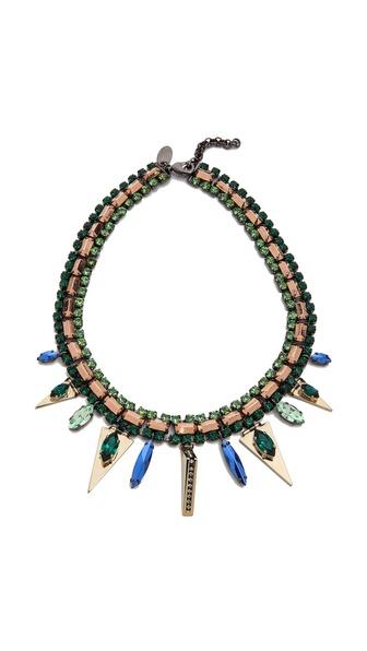 Iosselliani Graphic Elements Collar Necklace