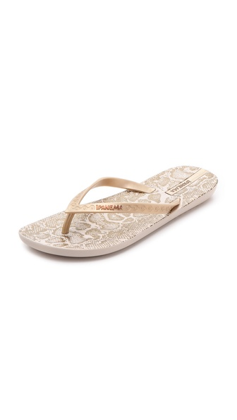 Ipanema Python Print Flip Flops