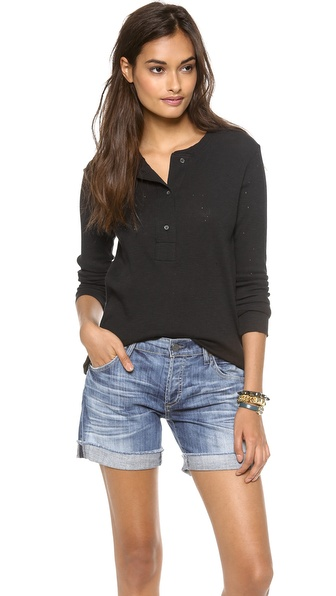 IRO.JEANS Enrica Distressed Henley