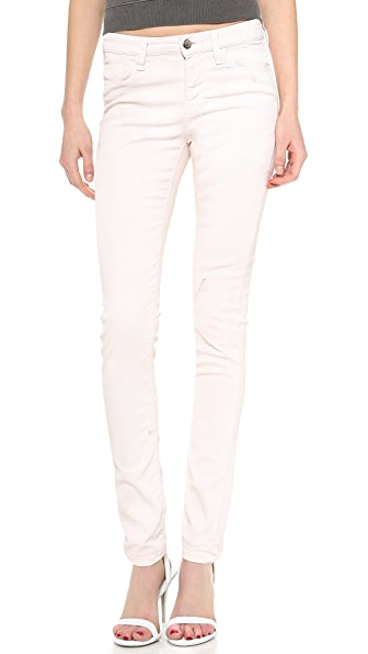 IRO.JEANS Cory Waxed Slouchy Skinny Jeans