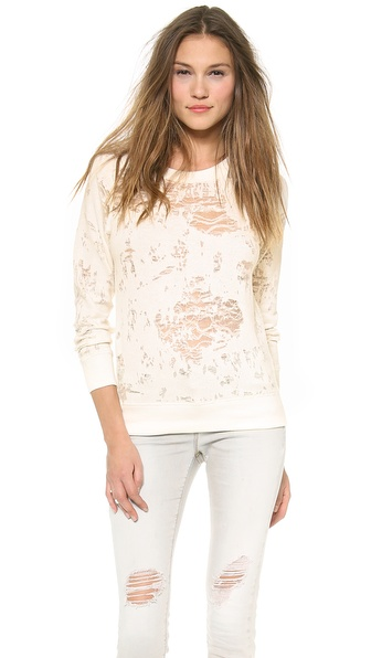 Iro.Jeans Nona Sweatshirt - White at Shopbop / East Dane