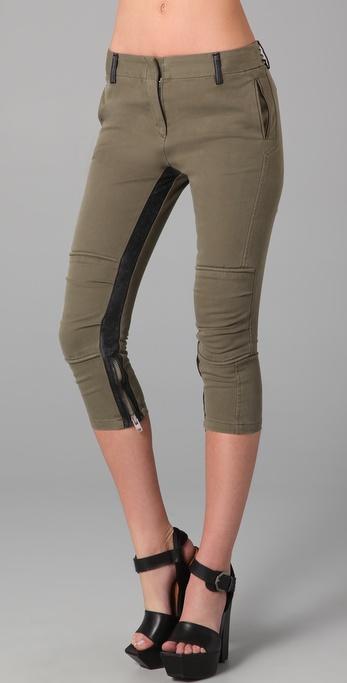 IRO Manon Cropped Biker Pants