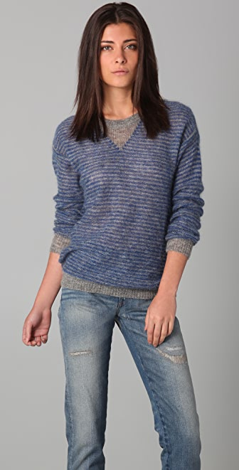 IRO Leonia Striped Sweater