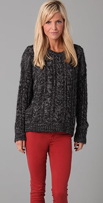 IRO Amelia Cable Knit Sweater