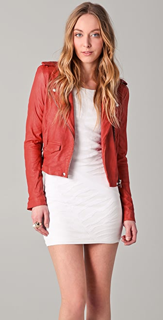 IRO Ashville Leather Moto Jacket