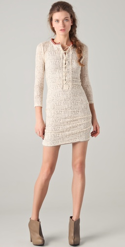 IRO Eli Lace Up Dress