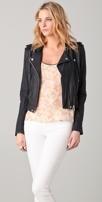 IRO Salinas Leather Jacket