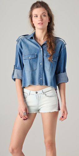 IRO Armon Denim Shirt