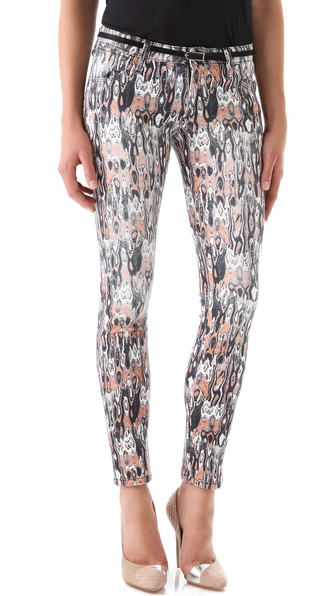 IRO Delia Printed Jeans