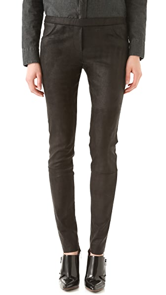 IRO Nancy Python Leather Pants