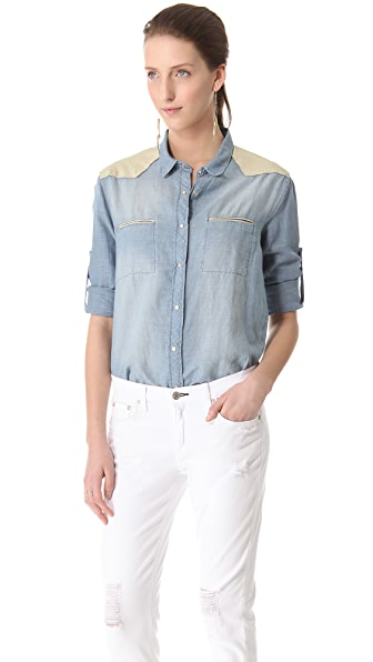 IRO Travis Denim Shirt
