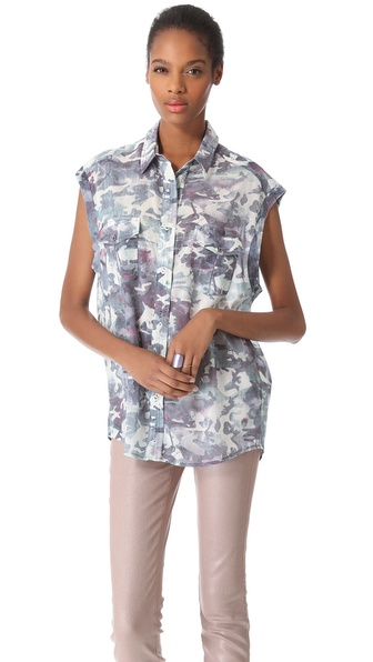 IRO Brian Sleeveless Shirt