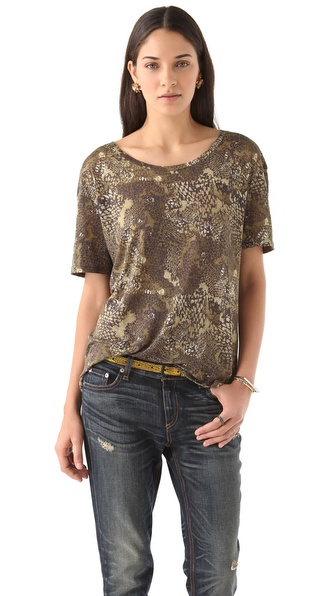 IRO Alis Printed Tee