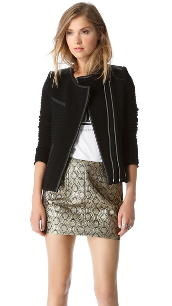IRO Maiden Ribbed Jacket