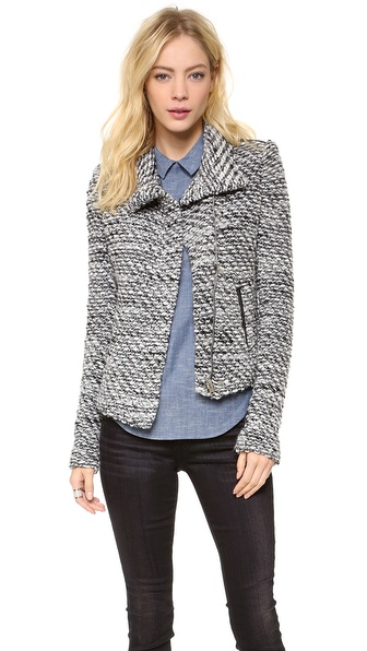 IRO Jospehina Draped Jacket