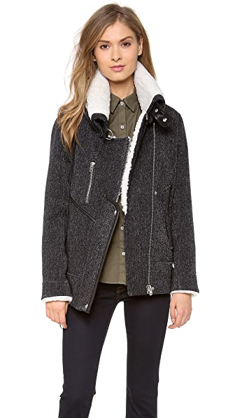 IRO Notting Shearling Coat