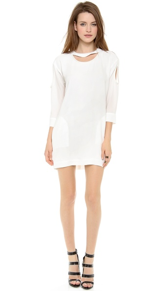 IRO Alani Open Shoulder Dress